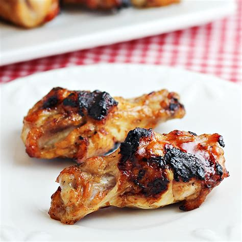 3 ingredient grilled chicken wings recipe