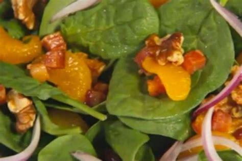 cucina con buddy ricette ricetta insalata di spinaci e mandarini cucina con buddy