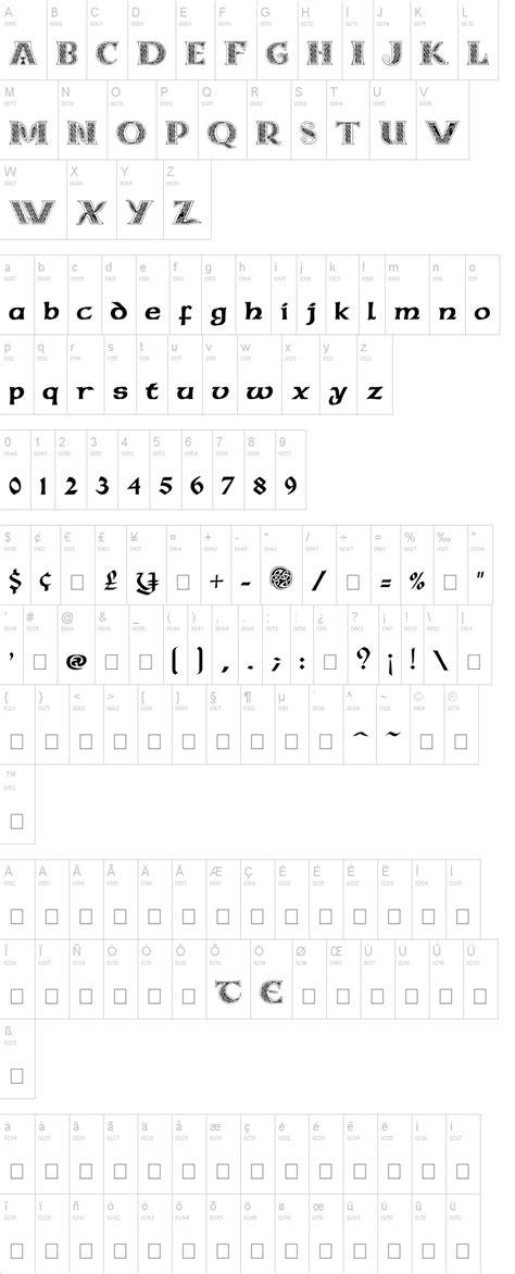 dafont decorative celtic md font dafont com