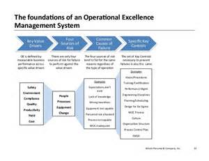 health care organizational chart operational excellence