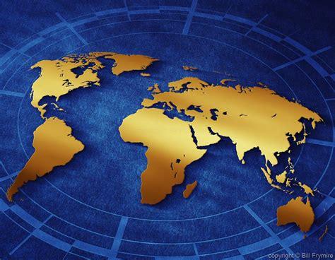 flat world map image flat world map