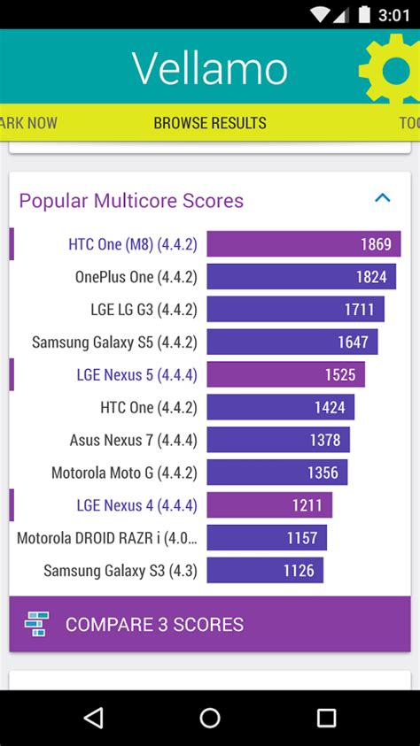benchmark mobile vellamo mobile benchmark 187 apk thing android apps free