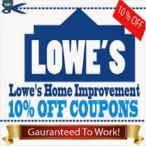 lowes com printable lowes coupon 20 off 10 off codes december 2016