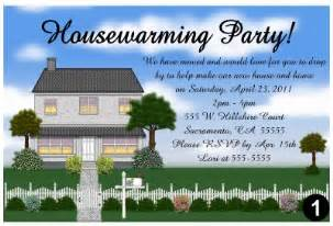 housewarming party invitations ebay