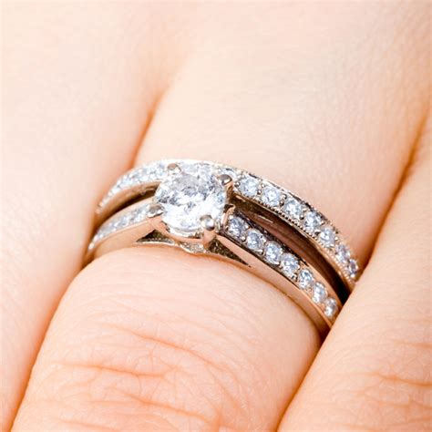 wedding and engagement rings engagement wedding ring set wedding rings pictures
