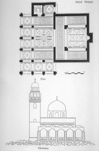 mosque floor plan island mosque b w drawing ground floor plan and