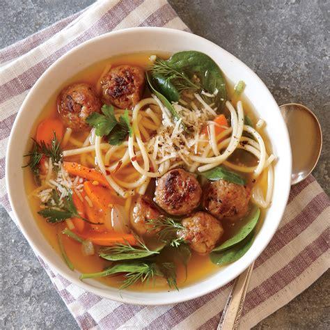italian recipe italian wedding soup recipe myrecipes
