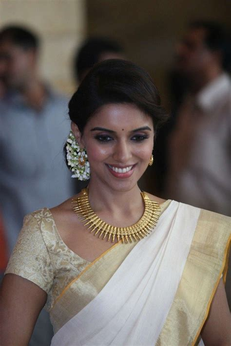 hairstyles in kerala saree actress asin kerala traditional saree bollywood style