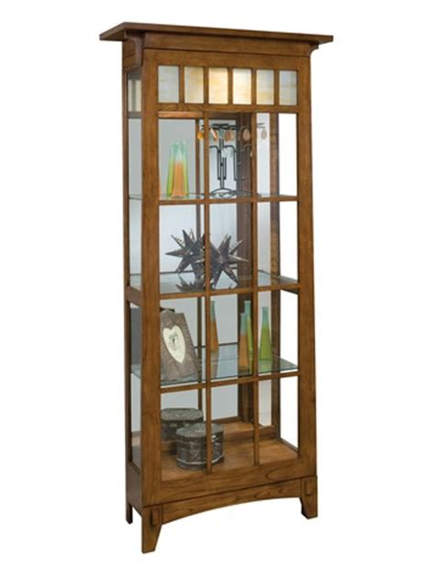 philip reinisch oak curio cabinet roycroft 2 way sliding door mission curio cabinet in oak
