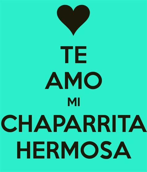 Imagenes De Te Amo Chaparrita | te amo mi chaparrita hermosa poster jacqueline keep
