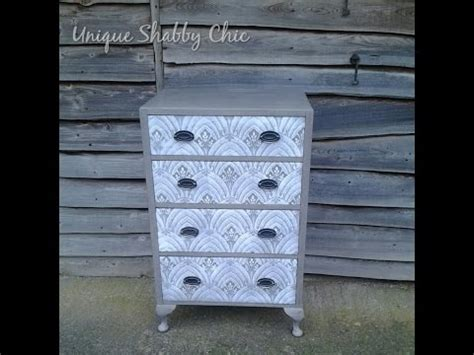 Hq 9675 I Dont Give A Chic how to shabby chic a chest of drawers with lace effect stencil