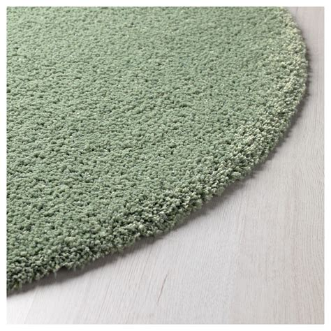 Adum Rug by 197 Dum Rug High Pile Light Green 130 Cm