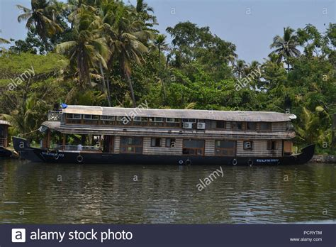 kerala tourism alleppey boat house traditional kerala house stock photos traditional kerala