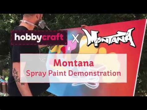 spray paint demonstrations montana gold spray paint demonstration