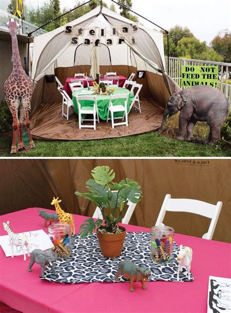 safari photo booth layout cute girly safari birthday party search animals and