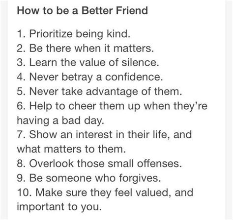 9 Ways To Be A Better Friend by How To Be A Better Friend Quotes Common Sense