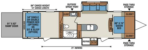 travel trailer toy hauler floor plans 2016 mxt mxt3192 lightweight travel trailer toy hauler k