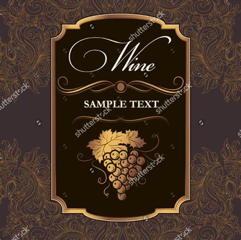 Wine Label Template Photoshop 23 Free Premium Download Wine Label Template Photoshop