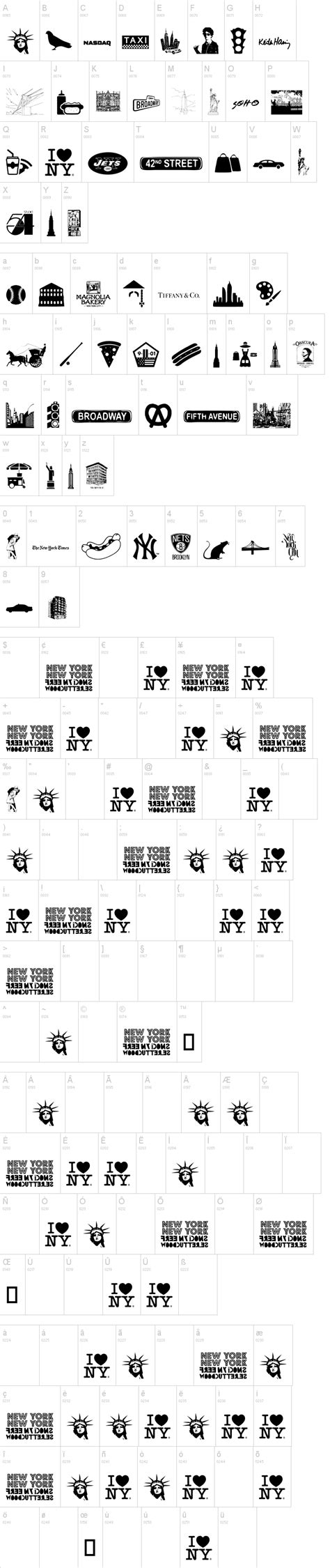 dafont new new york new york 1 font dafont com