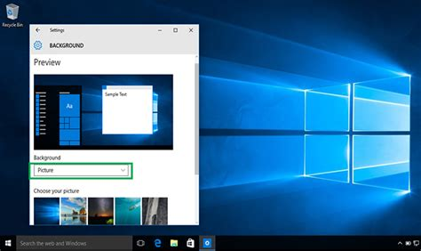 computer wallpaper change how to change your desktop background in windows 10