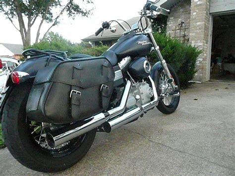 Tas Distro Bob Bag Army post a pic of ur dyna w bags page 3 harley davidson