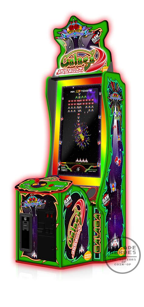 Galaga Arcade Cabinet by Arcade Heroes Galaga Returning To The Arcade With Galaga