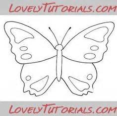 Butterfly Cake Template by Templates On Cake Decorating Tutorials Royal