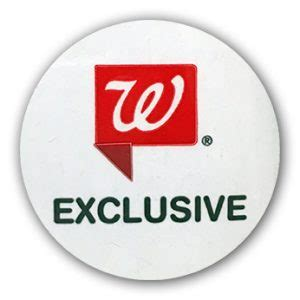 Walgreens Exclusive Sticker