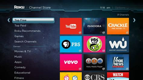 best free tv free channels in the roku channel store the official