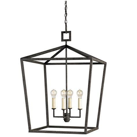 Currey And Company Light Fixtures Currey Company Lighting Denison Lantern 9872 Coupon Code 10currey