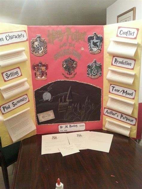 Book Report Ideas For Harry Potter 17 best ideas about reading fair on report to reading projects and book report projects