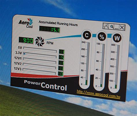 fan speed control software aerocool and asia vital components booths computex