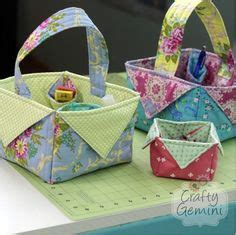 tutorial kerajinan quilting 1000 ideas about fabric basket tutorial on pinterest