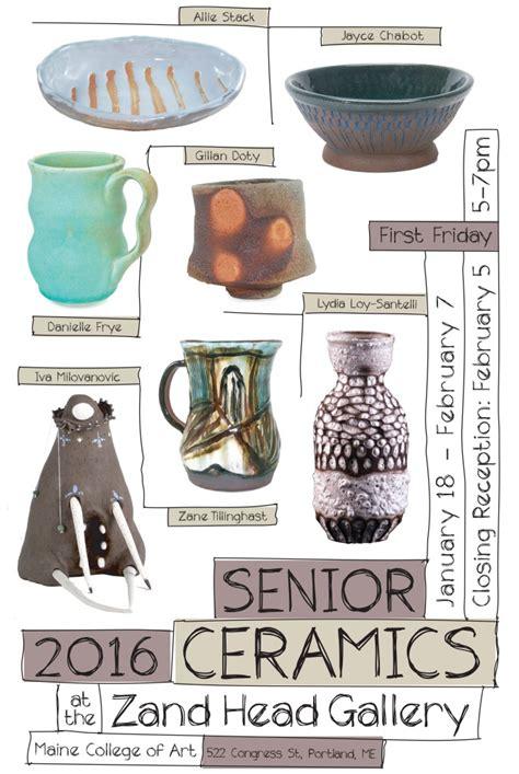 Plakat Keramik by Bfa Ceramics Show Maine College Of
