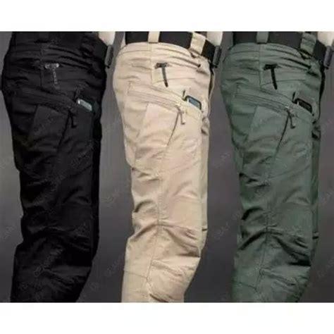 Celana Pendek Tactical Keren Dan Murah jual celana tactical pria celana tactical blackhawk panjang bahan ripstop salurkotak katun di