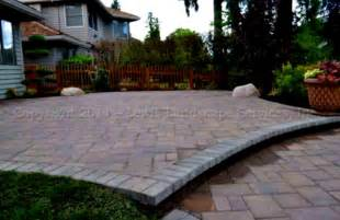 home landscaping paver patio designs diy how to make