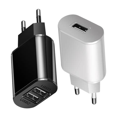 Travel Adapter Charger 5v 2 0a universal eu usb fast charger mobile phone wall