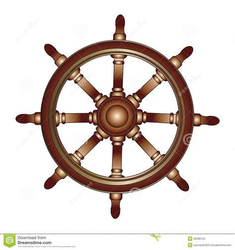 boat steering wheel free vector boat steering wheel stock vector illustration of ocean