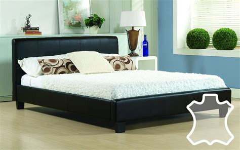 4ft Duvets Time Living Hamburg Real Leather Bed Mattress Online