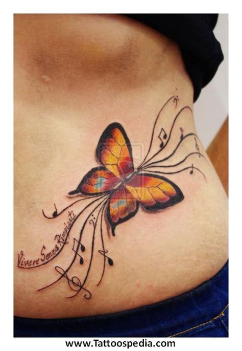 butterfly tattoo lower stomach tattoospedia worlds largest tattoo ideas and designs