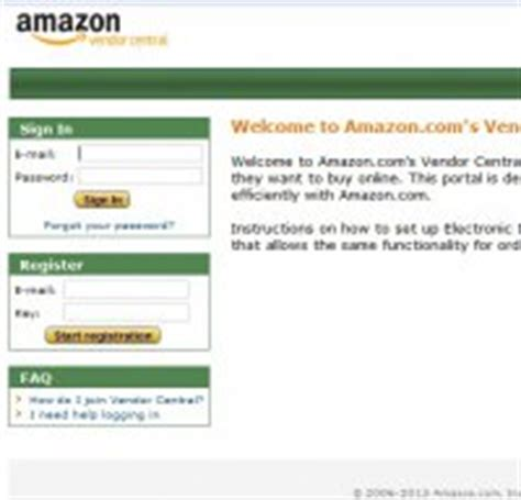 is amazon down right now vendorcentral amazon com is amazon vendor central down