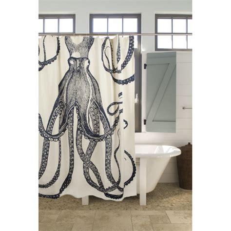 octupus shower curtain octopus shower curtain ink
