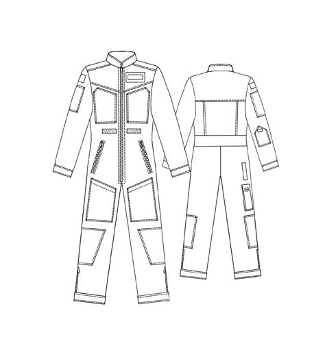 diagram sketch overall sewing pattern 6037 made to measure sewing