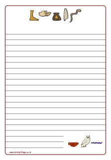 ancient egypt printable writing paper 1000 images about social studies teaching on pinterest