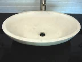 small bathroom vessel sink small oval vessel sink white limestone by bath