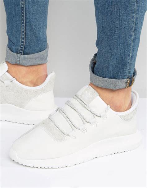 Sepatu Sneakers Adidas Originals Tubular Shadow White 1 adidas originals adidas originals tubular shadow