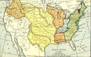 1803 map of usa american