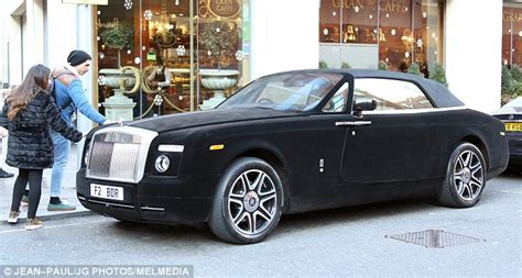 velvet rolls royce rolls royce entirely covered in black velvet spotted