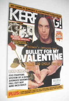bullet for my 2006 kerrang magazine back issues kerrang magazines for sale