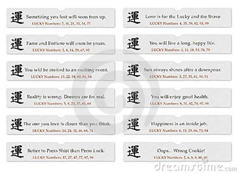 new year fortune cookie messages fortune cookie slips of paper with sayings or
